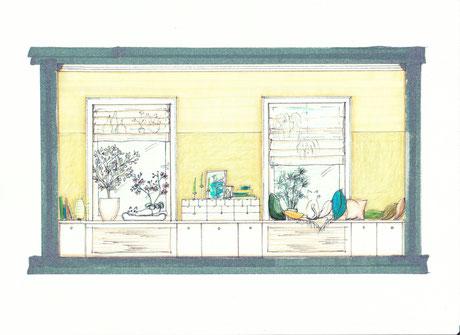Fensterplatz für Katzen