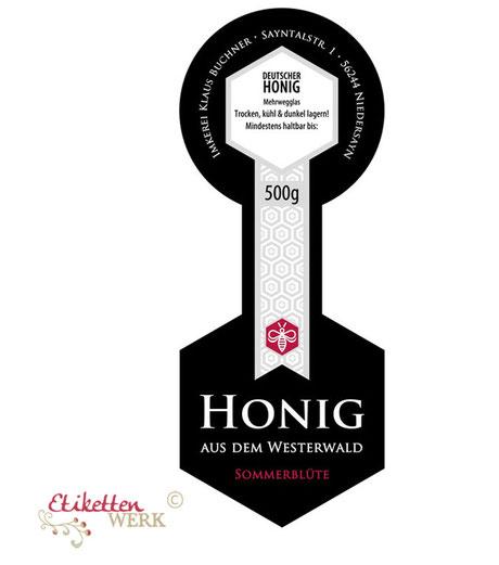 Honigetiketten, Design für Honig, Honigglasetiketten, Etiketten, Imker, Honiggläser, Honig Labels, ablösbare Etiketten, Grasetiketten, Recyclingetiketten