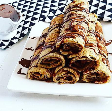 cuisinouverte.com, crepes légères au sarrasin, sans lactose, sans sucre ajouté.