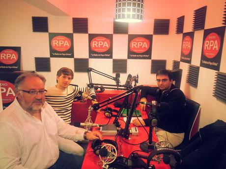Juan Leal et Maurice Berho le 27-10-2015 sur Radio RPA