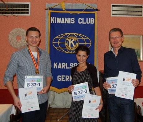 Läuferteam: Jürgen Scheuver  -  Thomas Bretzinger  -  Tanja Bruß
