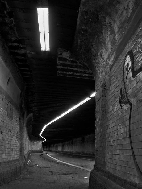 Tunnel.abschnitt für Fußgänger II