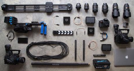 Equipment Videoproduktion München