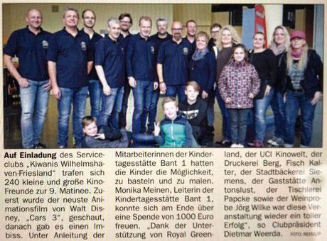 Jeversches Wochenblatt vom 06.12.2017