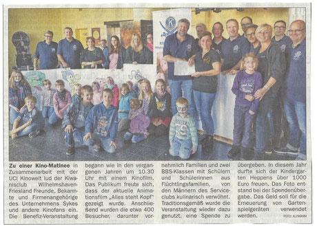 Wilhelmshavener Zeitung vom 14. Oktober