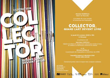 image de l'exposition collector quand l'art devient livre à l'Alcazar