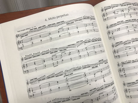 第四楽章「無窮動」ピアノバージョン