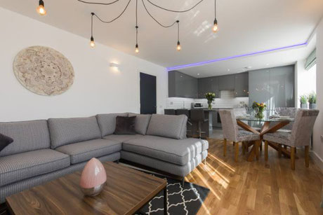 Broadstairs Apartments Garden Views luxury modern serviced apartment holiday lets self catering