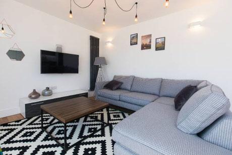 Garden Apartment living space