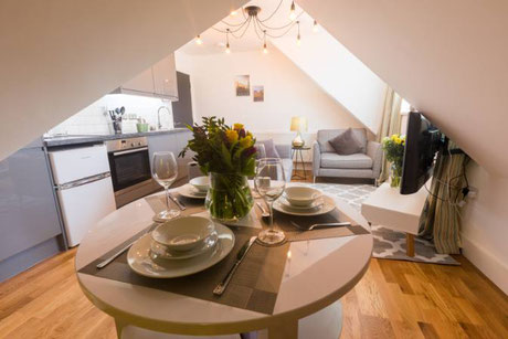 Broadstairs Apartments Loft Living Luxury modern Serviced Apartments seaside town close to London