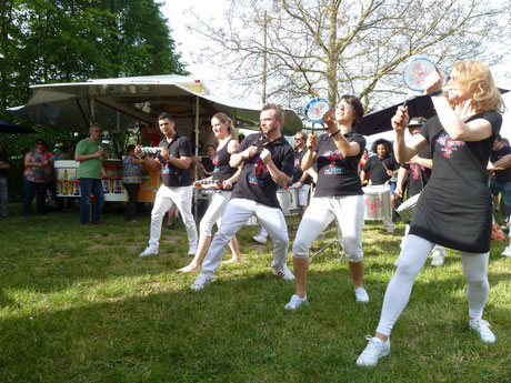 Bateria Caliente Sambashow Live 2016 Michelau im Steigerwald