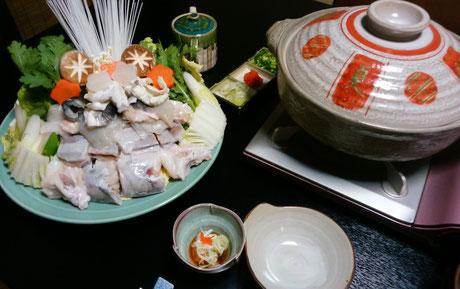 ふぐ料理  6000円(税別)