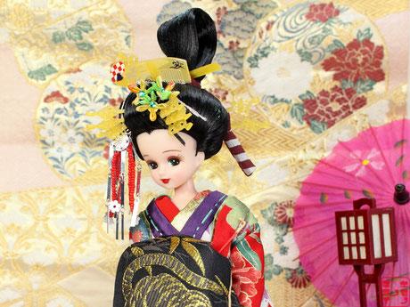 リカちゃん 花魁,ドール 太夫,人形 傾城