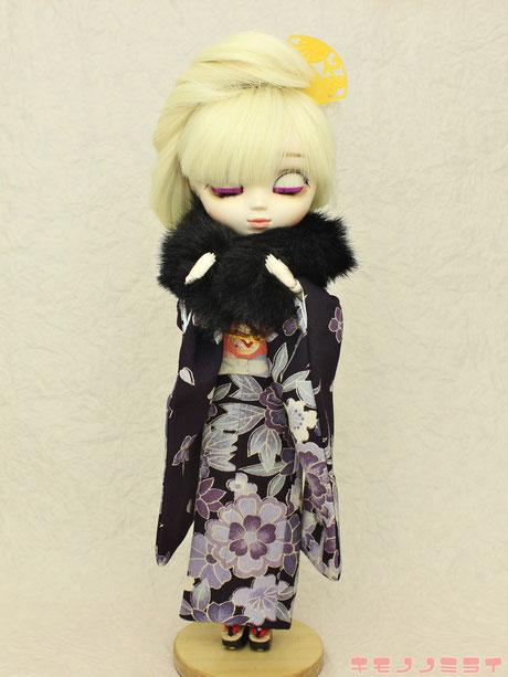 プーリップ 着物,Pullip kimono,プーリップ 振袖