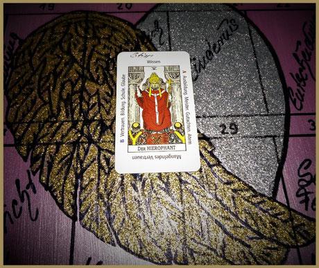 Tarotkarte der Hohepriester