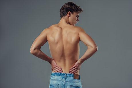 espalda; tratamientos estéticos masculinos; hombre; Barcelona; Canet;