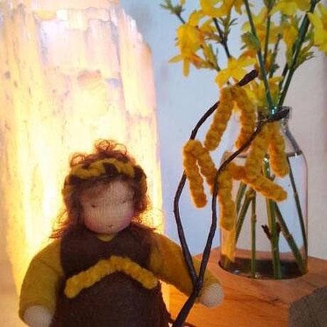 von einer Kundin Blumenkinderwerkstatt Haselkätzchen