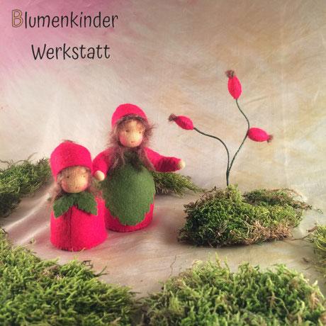 Blumenkinderwerkstatt Hagebuttenmädchen