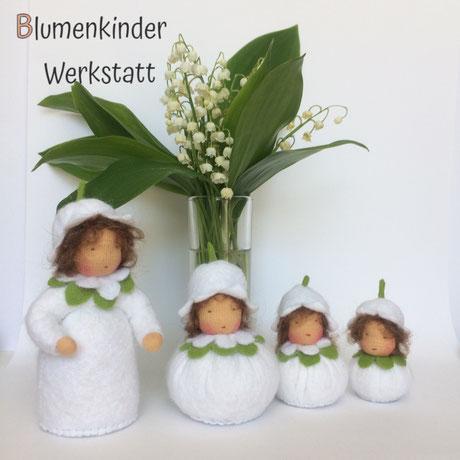 Blumenkinderwerkstatt Maiglöckchenfamilie