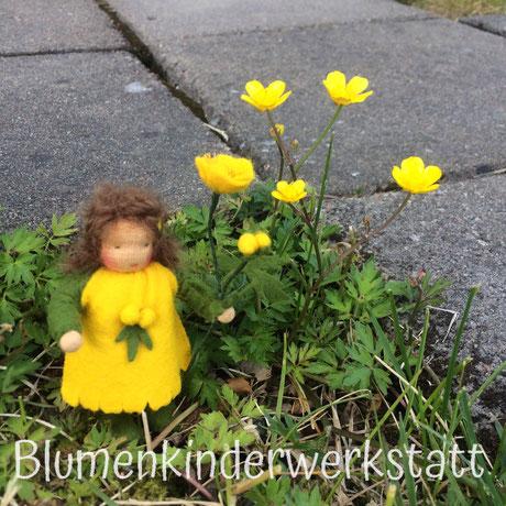 Blumenkinderwerkstatt Butterblume mit Beinchen
