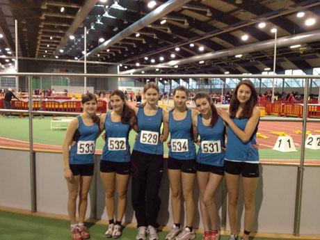 Hallenkreismeisterschaften der U18 in Düsseldorf