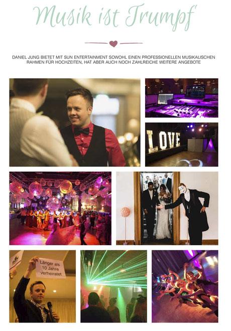 Das Zeitschrift Magazin Regio Wedding hat einen Bericht über mich veröffentlicht