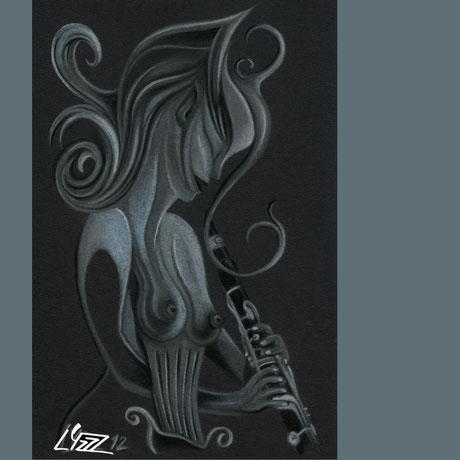 pastel sec - lysa mignot - 2012 - Lyzzz