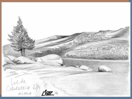 graphite - lysa mignot - 2014 - Calacuccia Corse - Lyzzz