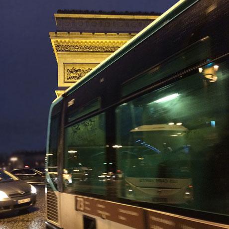 paris arc de triomphe - 2014 - Lyzzz