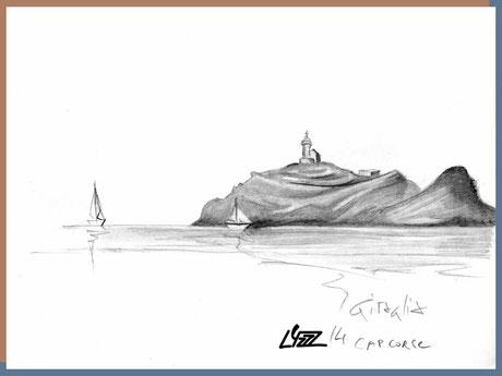 graphite - lysa mignot - 2014 - Giraglia Corse - Lyzzz