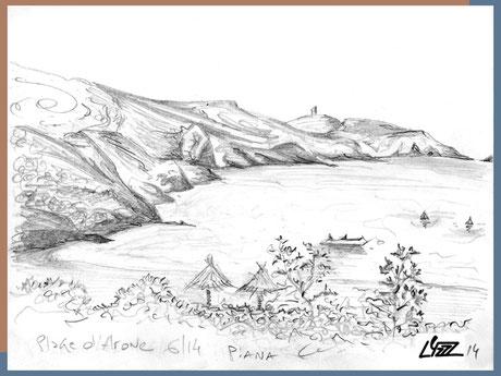 graphite - lysa mignot - 2014 - Piana Corse - Lyzzz