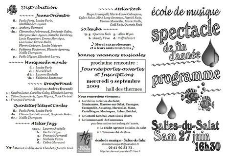 ecole musique salies du salat - Lyzzz'Art