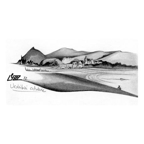 graphite - lysa mignot - 2012 - Urdaibai - Lyzzz