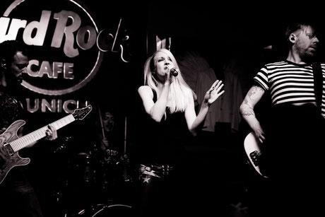 Bandfoto im HardRockCafé München