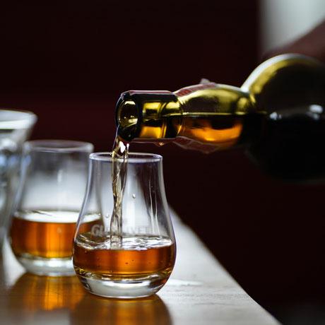 Whiskey Tasting im Restaurant StegHaus in Braunschweig