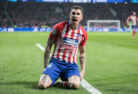 Giménez, Atletico de Madrid, Juventus, Champions, Metropolitano, octavos, fotografia