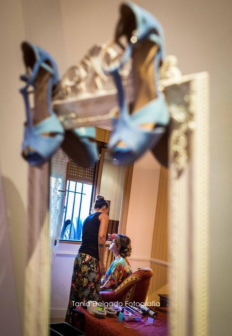 boda, preparación, novia, fotografia de bodas, madrid, navalcarnero, hotel el labrador, tania delgado fotografia