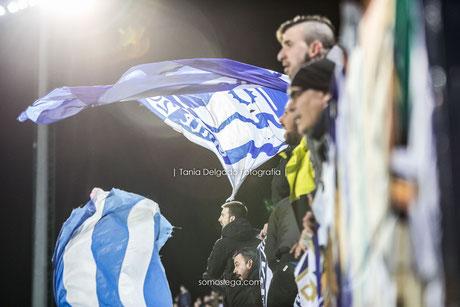 bandera, ultra, butarque, leganes, futbol, fotografia deportiva, grada animación, ghetto28