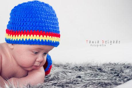 book, bebe, fotografia de niños, fotografia de bebés, madrid, vallecas, tania delgado fotografia, superman