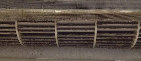 Загрязнен и радиатор и турбинка