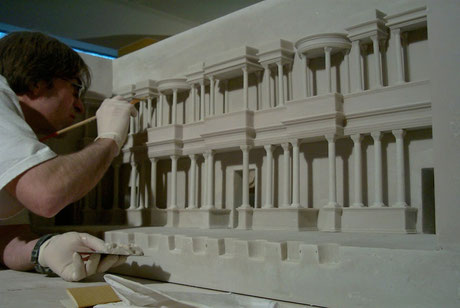 Maqueta Teatro Romano Caesar Augusta