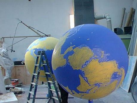 continental drift globes