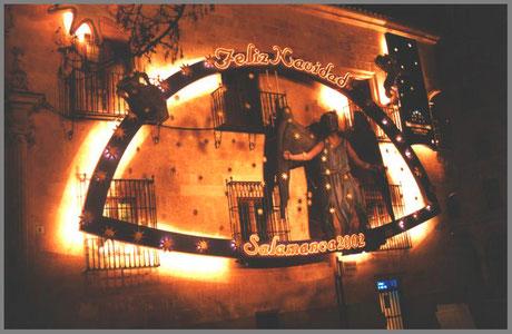 Decoración Navideña en fachada