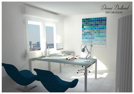 Bureau Danaé Balland décoration