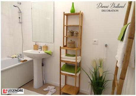 Appartement témoin décoré salle de bain