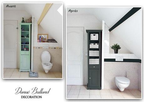 Home staging salle de bain Danaé Balland décoration