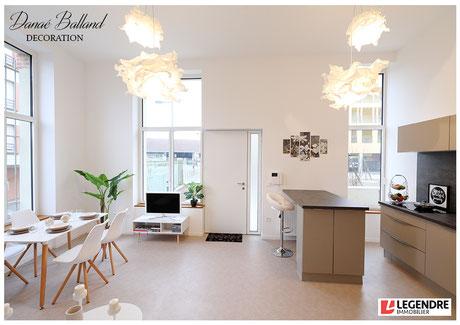 Appartement témoin décoré décoration maison salon