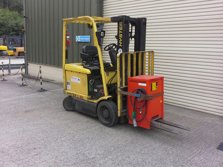2.0 ton Electric Forklift Hire in Kent and Sussex