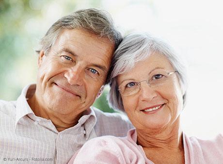 Hohe Lebensqualität mit gut sitzenden Zahnprothesen