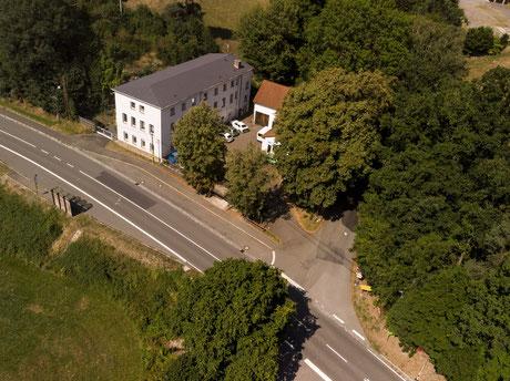 Luftaufnahmen, Drohnenaufnahmen, Drohnenforografie, Luftbild, Elsterberg, Sachsen, Vogtland